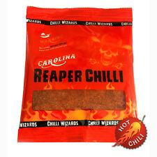 Mietitore Di Carolina Peperoncino Polvere - Mondi Più Caldi - 100% Reaper 50g