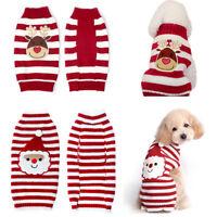 chien chaud chandail Noël vêtements décorations tricot costume manteau
