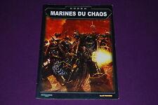 WARHAMMER 40000 40K - Codex Space Marines du Chaos 2002 V3-V4