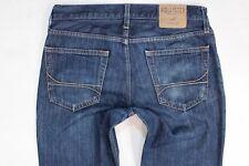 Hollister slim straight blue jeans W32 L34