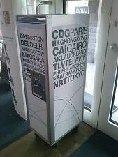 AUSSTELLUNGSSTÜCK bordbar Trolley - silver edition airports white