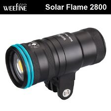 Weefine Solar Flare 2800 Video Light Underwater lighting photography WF035