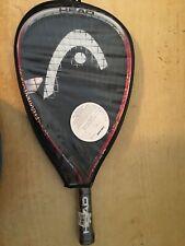 Head Titanium Liquid Metal Hurricane Racquetball Racquet With Case 3 5/8