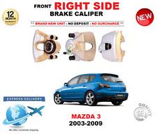 FOR MAZDA 3 FRONT RIGHT BRAKE CALIPER 2003-2009 1.4 1.6 2.0 2.3 HATCHBACK SALOON