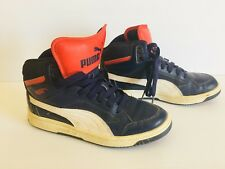 Puma Shoes Kids Blue Red Youth Size 5