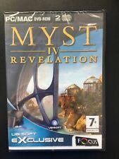 Myst 4 (IV) Revelation PC- MAC DVD Rom New & Sealed