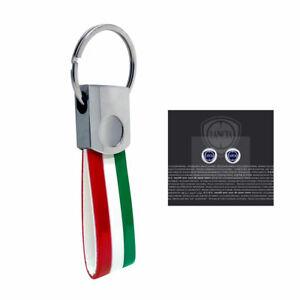 Portachiavi Italia con Loghi Lancia Originali 12 mm