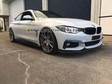 BMW 4 series f32 f33 f36 carbon fiber side skirt extension- m performance m tech