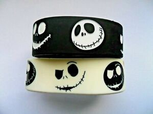 Nightmare Before Christmas Silicon Rubber Wristband / Bracelet 4 to Choose