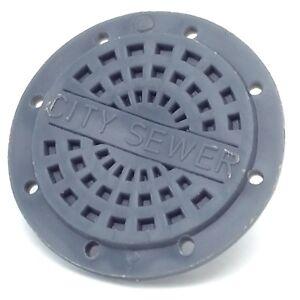 1980's Vintage Shield Cheapskate Manhole TMNT Teenage Mutant Ninja Turtles G238