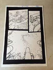 THUNDERCATS #5 PG #3 original art, PRINCESS and LION-O UNDER ATTACK, 2004