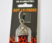 New HOT LEATHERS Motorcycle Scooter Biker Guardian Bell Support Our Troops