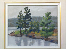 CANADIAN GROUP OF SEVEN A.Y. JACKSON (1882-1974) IMPRESSIONIST OIL PAINTING