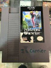 ISOLATED WARRIOR- NINTENDO NES AUTHENTIC - TESTED & WORKING - FAST SHIP!