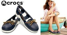 :::mandy n alec::: Crocs Beach Line Boat Shoes for Women Size 8 (fits size 9)