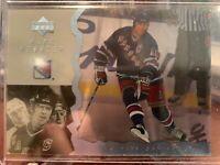 1996-97 Upper Deck Ice Acetate Mark Messier New York Rangers RARE