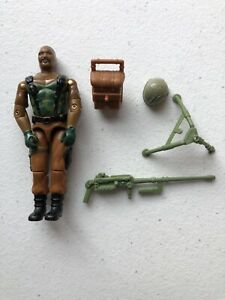 GI Joe 1984 Roadblock v1 Heavy Machine Gunner Hasbro Action Figure JR168