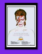David Bowie Poster.  Aladdin Sane Album and Tour Promo . Large B2  (50x70cm) Pri