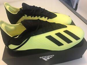 Adidas X 18.2 FG Football Boots UK 9 Brand new! FG
