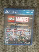 LEGO Marvel Collection Sony PS4 - 3 Full Games w/ All DLC 2 Players Rated E 10+