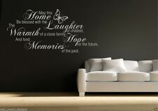 Family Memories Wall Art Sticker Room Lounge Quote Decal Mural Stencil WSD491