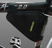 Sporting Accessories Bike Cycling Triangle Bag Front Frame Bicycle Black Pouch