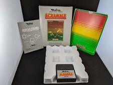 Scramble Vectrex Game: working, original box, overlay, and manual.