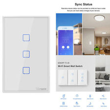 Sonoff TX T2 US 1/2/3 Gang Smart Touch Light Switch eWelink APP Remote Control