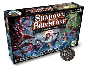 Shadows of Brimstone: Swamps of Death, Revised CORE SET, FFP0702R NEW