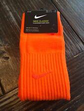 NIKE Classic II SX5728 806 OTC DriFit Soccer Socks L Large 8-12 Safety Orange