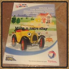 V. RARE 2007 Brum & The Mysterious Disappearing Zebra Crossing Sticker Booklet!