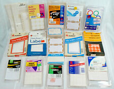 Lot of Estate Sale Retail Pricing Supplies Multi-use Labels Stickers