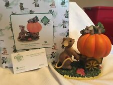 """Charming Tails """"How Quickly Our Little Pumpkins Become Big Ones """" Dean Griff Nib"""