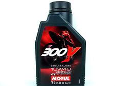 1Liter Motul 300V 10W40 Öl Motorradöl Factory Line Road Racing Rennsport