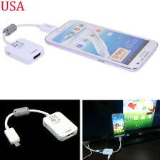 Micro USB MHL to HDMI 1080P HD TV Cable Adapter 4 Samsung Galaxy Mega 6.3 i9200