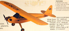 SIMPLE CUB PLAN + RCM CONSTRUCTION ARTICLE for a 1/2A Foam Wing Model Airplane