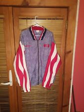 Rare Adidas World Cup 1994 Usa Denim Style Jacket Xl Olympic Lake Placid 90s