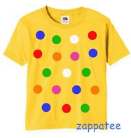Children 's Spotty Dotty T Shirt. All in stock. Need a Boys or girls Spots Tee?