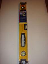 Swanson 24-Inch Magnetic Box Beam Level (Yellow)
