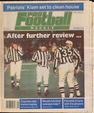 Pro Football Weekly December 9, 1990 NFL Referees Instant Replay Vol 5 No 18
