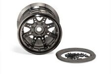 New Axial Savage Revo T-Maxx 40 Series 8 Spok 17mm Beadlock Wheels/Rims (2) A...