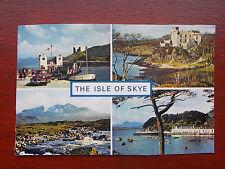 The Isle of Skye, Portree, Cuillins, Dunvegan & vintage cars etc - RP Postcard