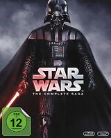 STAR WARS STAR WARS 1 2 3 4 5 6 COMPLETE SAGA 9 BLU-RAY Collection BOX