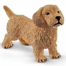 Schleich Farm World Dachshund Puppy Dog Figure