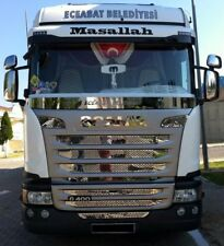 Scania G400 Radiator Grille Covers Stainless Steel 9 Piece