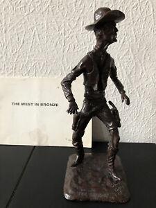 L.E. Gus Shafer Bronze Sculpture - The Sheriff - 1966 - Ltd Ed 10/30