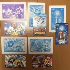 Pokemon Phone Card Pikachu Movie/ 5 Cards Set  Unused Vintage Very Rare Limited