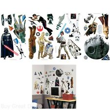 Star Wars Classic Peel And Stick Wall Decals Wall Stickers Decor For Both Kids