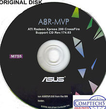ASUS GENUINE VINTAGE ORIGINAL DISK FOR A8N32-SLI  Motherboard Disk M775