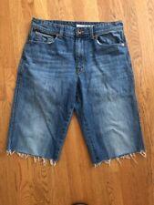 "Men's DKNY 32 Cut-off Jeans Denim Shorts. Inseam 14""."